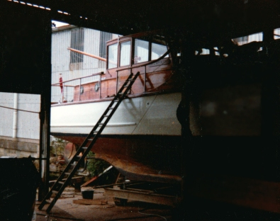 renovations of the boat
