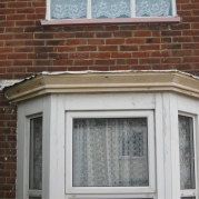 bay window soffit replacement