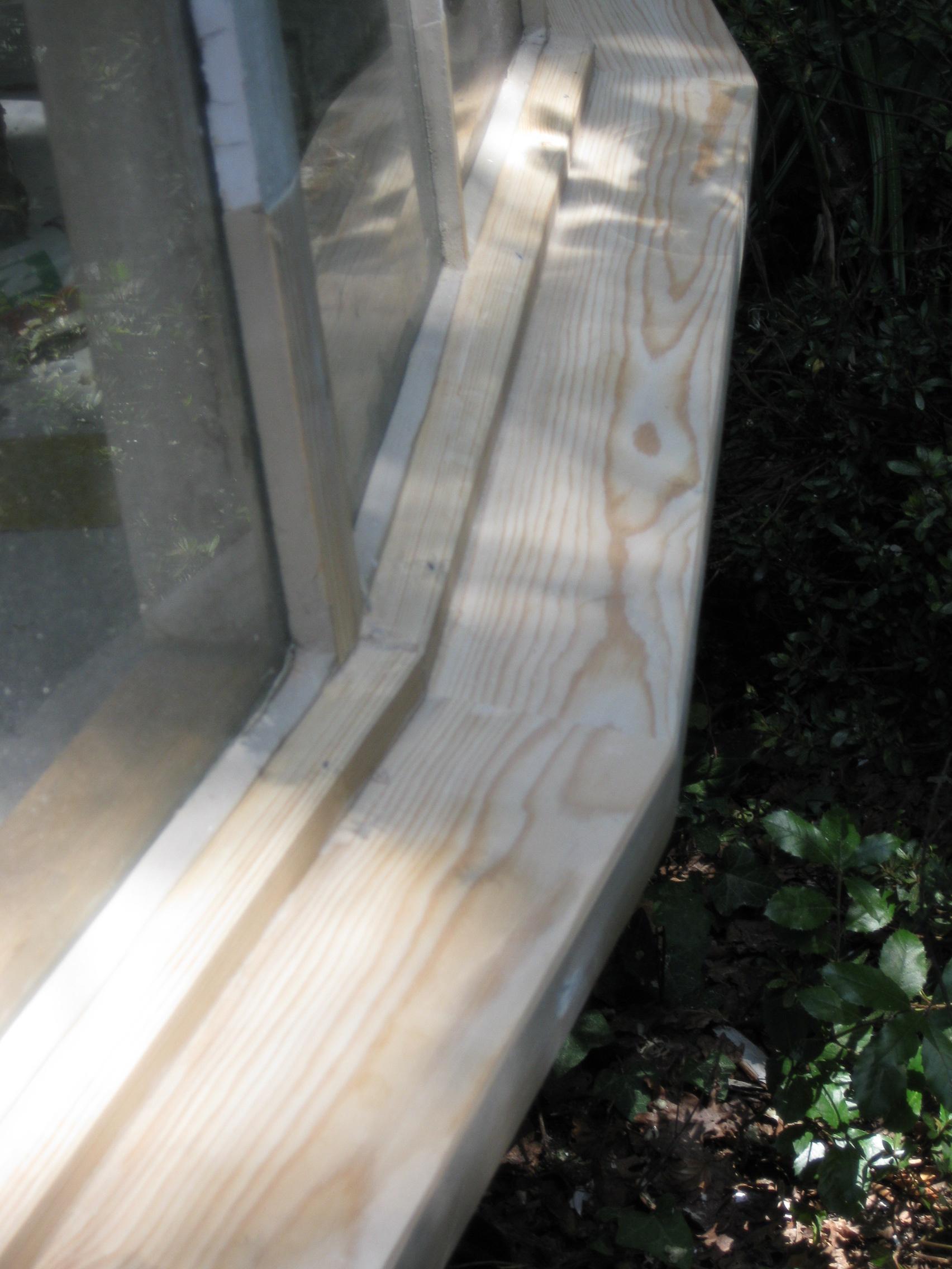 wooden frame repair