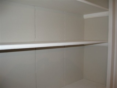A custom made shelve