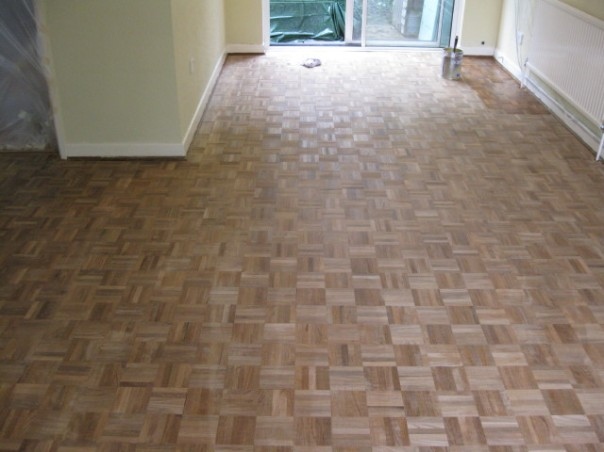 finished parquet
