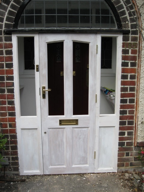 Front door repaired for Front door replacement