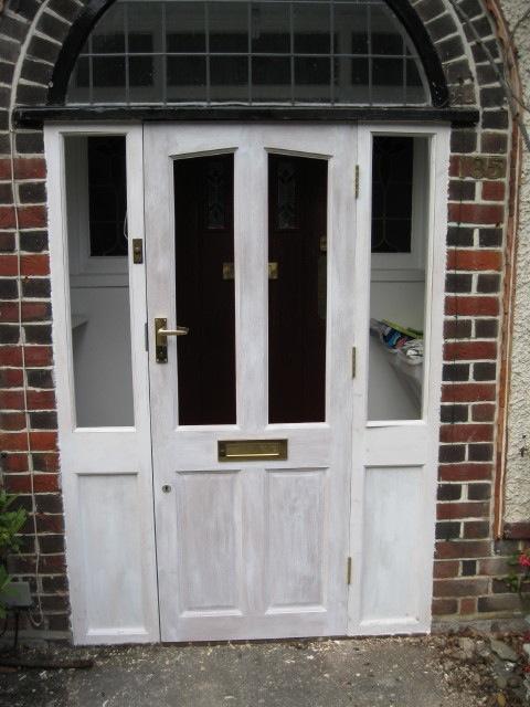 front door repaired