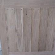 back of the oak door