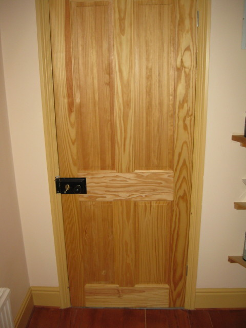 Four Panel Internal Door Carpentry Services Southampton