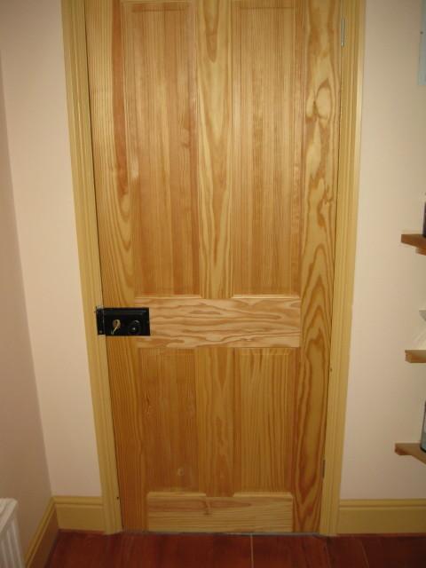 Four Panel Internal Door Carpentry Services Southampton