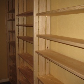 Floor to ceiling Bookcase southampton