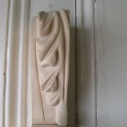 traditional carpentry corbel carving