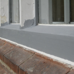 Replacement of rotten cills2