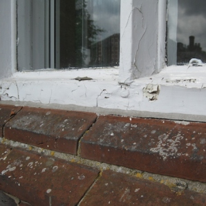 Replacement of rotten cills3