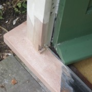 rotten porch repairs in southampton