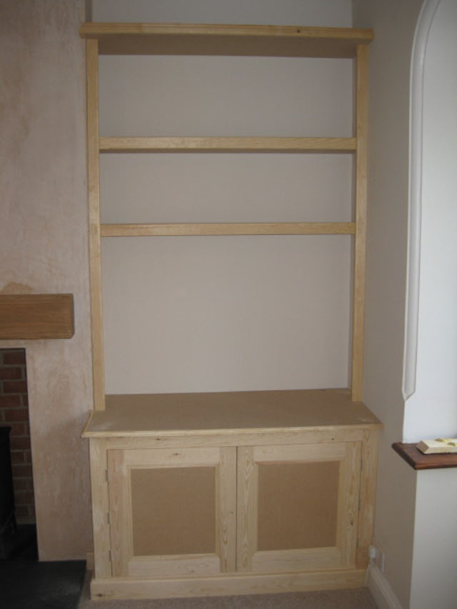 Chimney Breast Storage Cupboards Carpentry Services