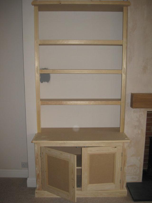 Chimney Breast Storage Cupboards Carpentry Services