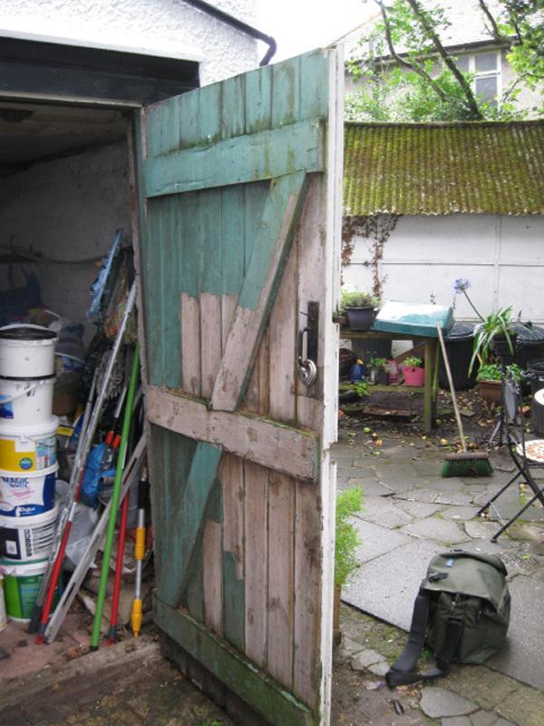 Garage door in Southampton