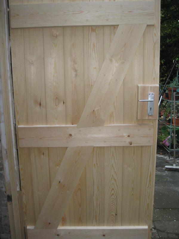 Replaced wooden door in Southampton