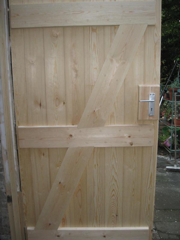 Replaced wooden door in Southampton