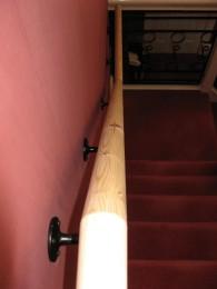 Mopstick Handrail close up
