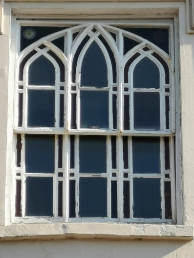 Gothic revivalist window