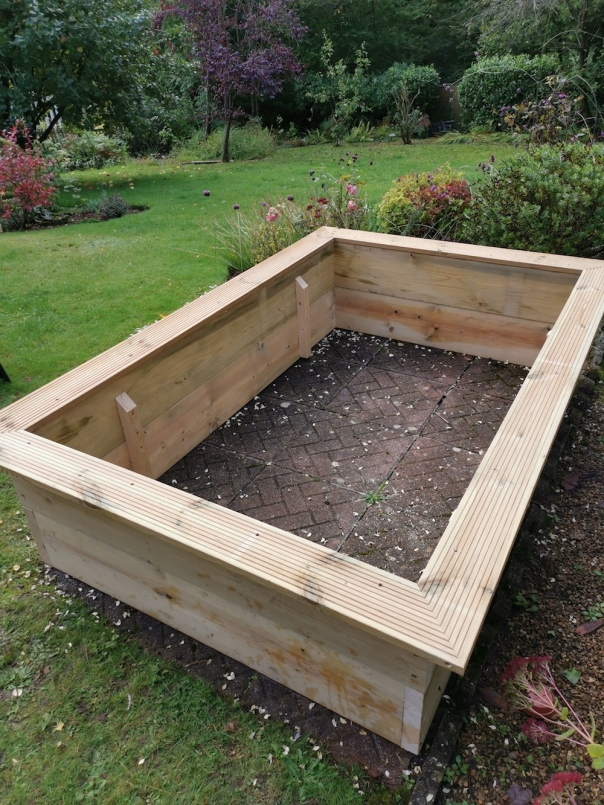 raised bed in southampton