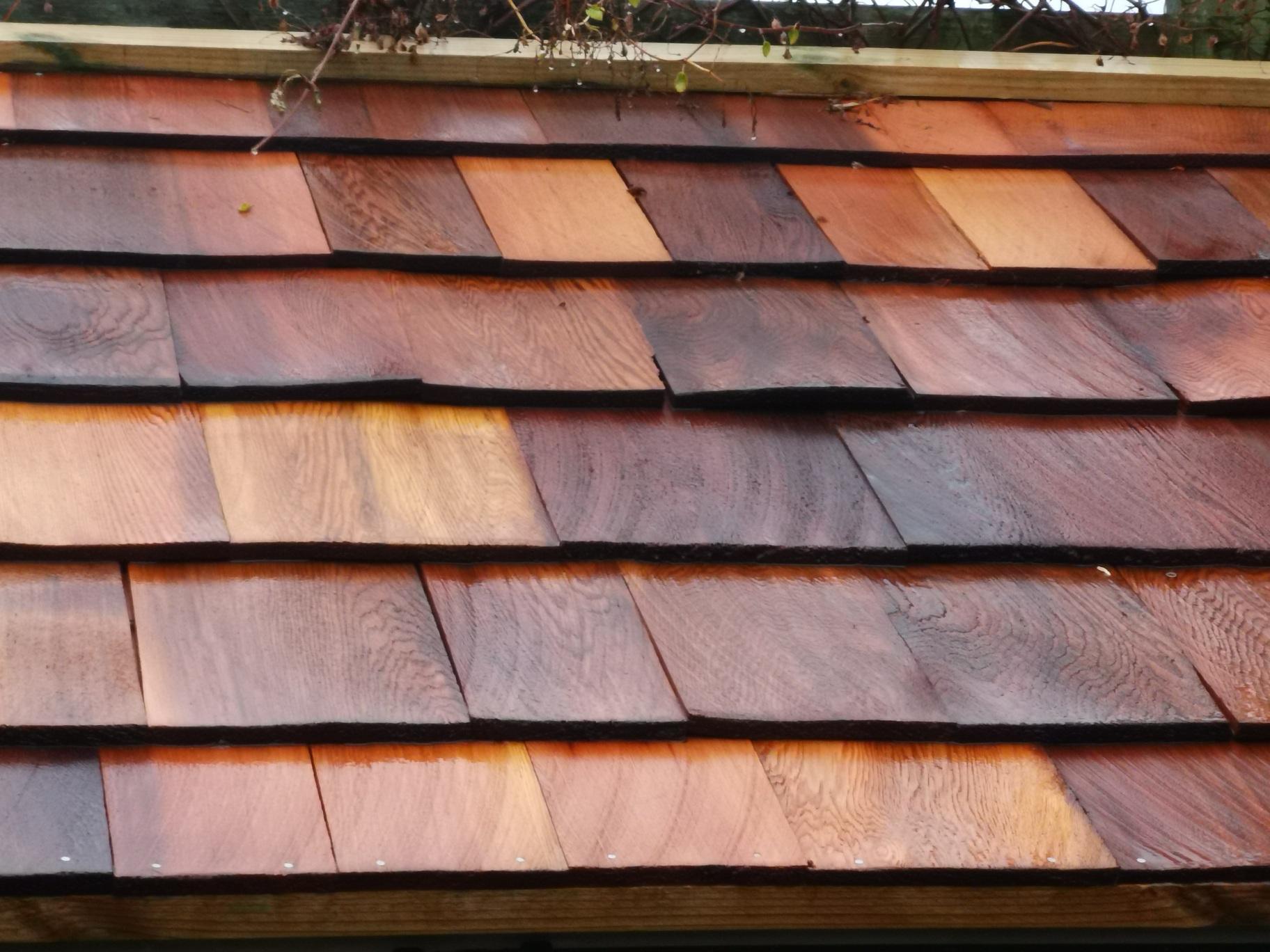 Cedar wood roof in southampton