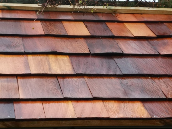 Cedar wood roof in southampton