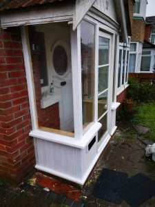 Fully renovated Wood Porch