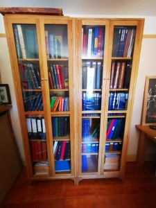 Carpenter made bookcase in Totton