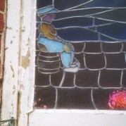 Stained glass window southampton before repairs